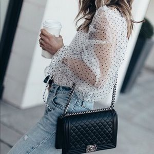 Storets sheer blouse